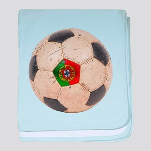 Portugal Football baby blanket