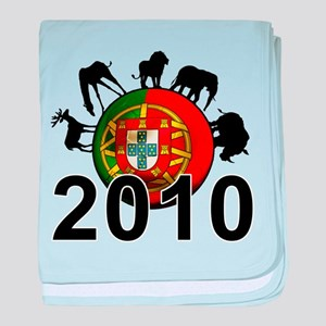 Portugal World Cup baby blanket
