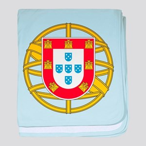 Portugal Coat Of arms baby blanket