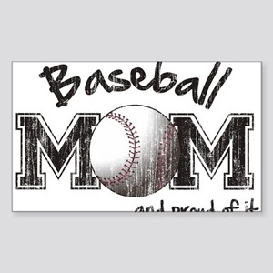 Baseball Mom...and proud of it Sticker