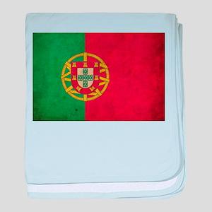 Vintage Portugal Flag baby blanket