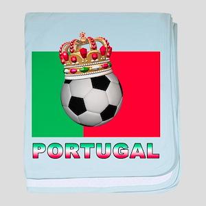 Portugal Football baby blanket