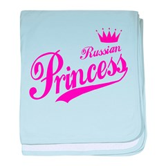 Russian Princess baby blanket