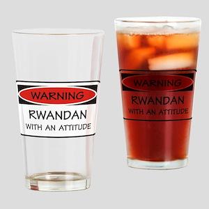 Attitude Rwandan Pint Glass