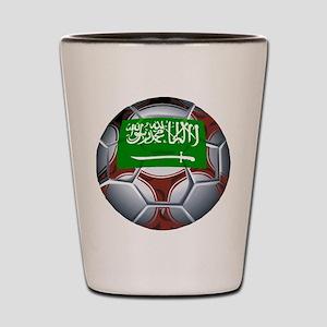 Football Saudi Arabia Shot Glass