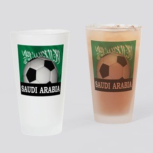 Football Saudi Arabia Pint Glass
