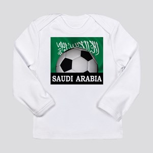 Football Saudi Arabia Long Sleeve Infant T-Shirt