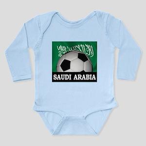 Football Saudi Arabia Long Sleeve Infant Bodysuit