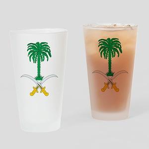 Saudi Arabia Coat Of Arms Pint Glass