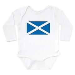 Scotland Flag Long Sleeve Infant Bodysuit