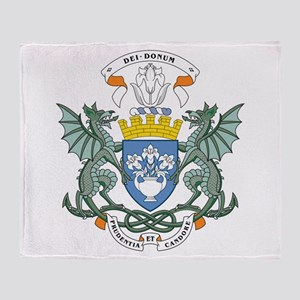 Dundee Coat Of Arms Throw Blanket