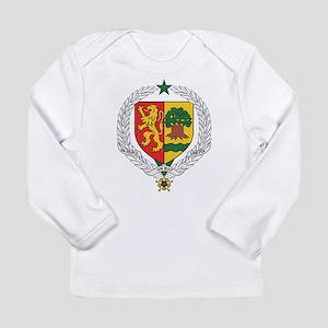 Senegal Coat Of Arms Long Sleeve Infant T-Shirt