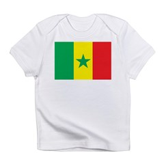 Senegal Flag Infant T-Shirt