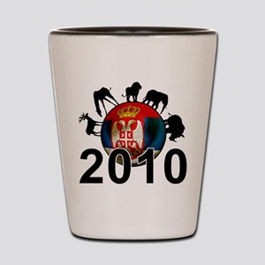 Serbia World Cup 2010 Shot Glass