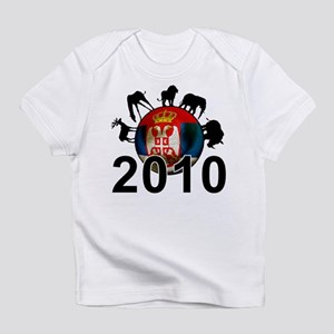 Serbia World Cup 2010 Infant T-Shirt