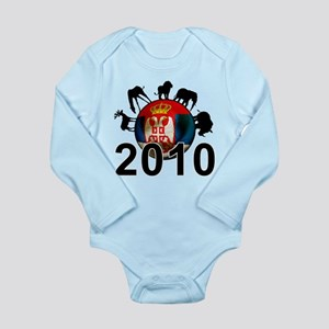 Serbia World Cup 2010 Long Sleeve Infant Bodysuit