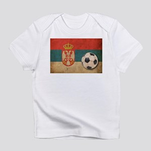 Vintage Serbia Football Infant T-Shirt