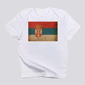 Vintage Serbia Flag Infant T-Shirt