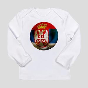 Serbia Football Long Sleeve Infant T-Shirt