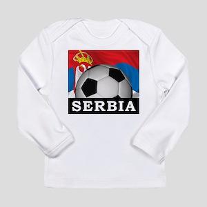 Football Serbia Long Sleeve Infant T-Shirt