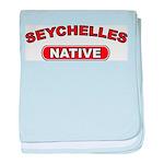 Seychelles Native baby blanket
