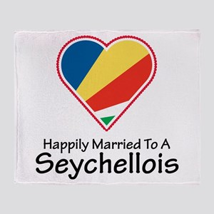 Happily Married Seychellois Throw Blanket