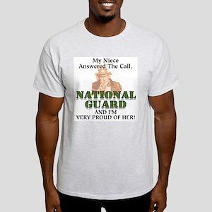 National Guard Niece Ash Grey T-Shirt