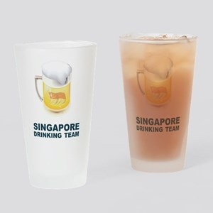 Singapore Drinking Team Pint Glass