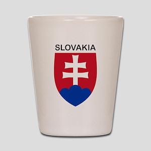Slovakia Shot Glass