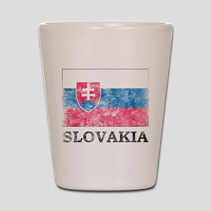 Vintage Slovakia Shot Glass