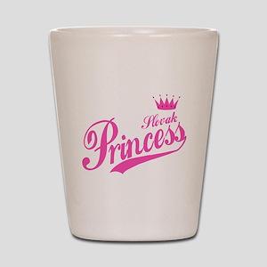 Slovak Princess Shot Glass