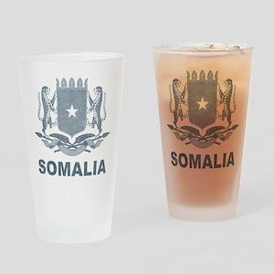 Vintage Somalia Pint Glass