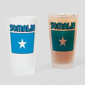 Somalia Flag Pint Glass