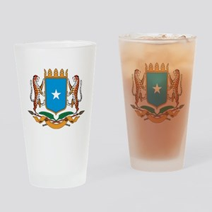 Somalia Coat Of Arms Pint Glass