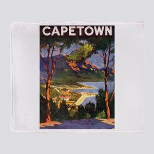 Cape Town Throw Blanket