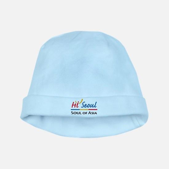 Seoul Flag baby hat