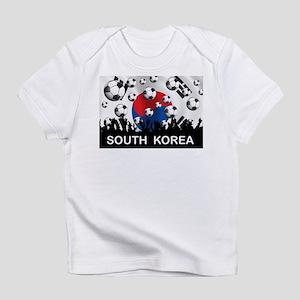 South Korea Football Infant T-Shirt