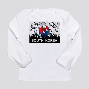 South Korea Football Long Sleeve Infant T-Shirt