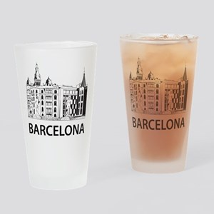 Barcelona Pint Glass
