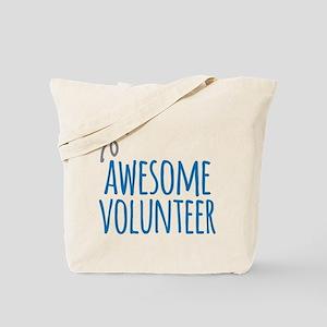Awesome volunteer Tote Bag
