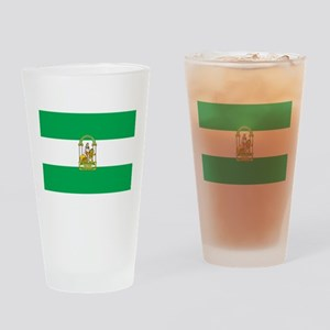 Andalucia Flag Pint Glass