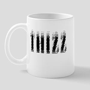 Thizz - Black on White Mug