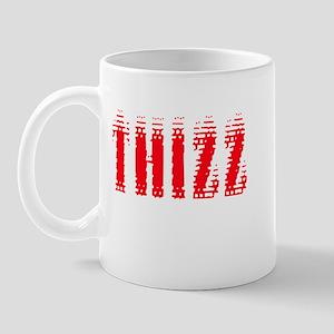 Thizz - Red on White Mug