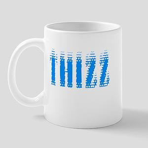 Thizz - Blue on White Mug