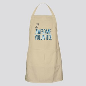 Awesome volunteer Light Apron