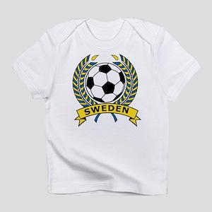Soccer Sweden Infant T-Shirt