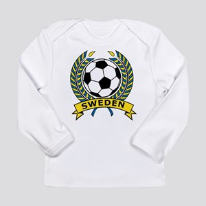 Soccer Sweden Long Sleeve Infant T-Shirt