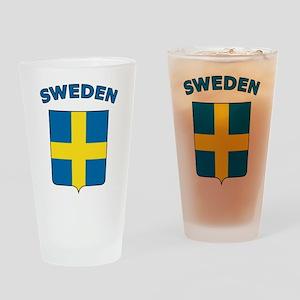 Sweden Pint Glass