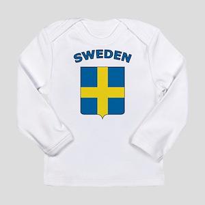 Sweden Long Sleeve Infant T-Shirt