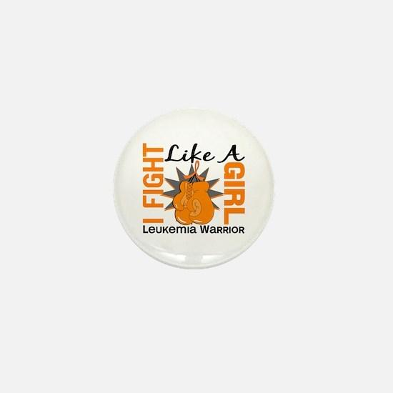 Licensed Fight Like a Girl 8.2 Leukemi Mini Button